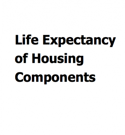 Life Expectancy of Housing Components